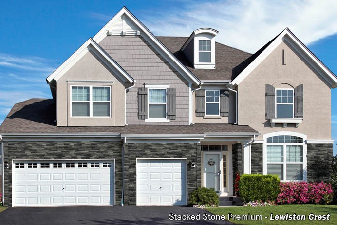 Exteria Stacked Stone Premium Siding All American Building Products