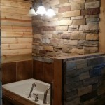 Bathroom -Ledgestone Pionset